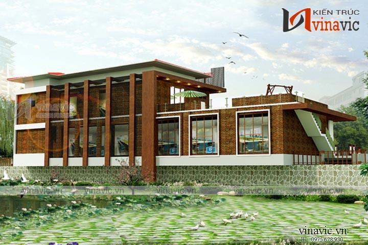 Văn phòng hiện đại 2 tầng dành cho doanh nghiệp KSVP15