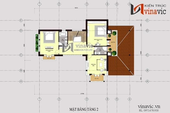 Biệt thự vườn 250m2 3 tầng thiết kế hiện đại ở Hải Phòng BT1473