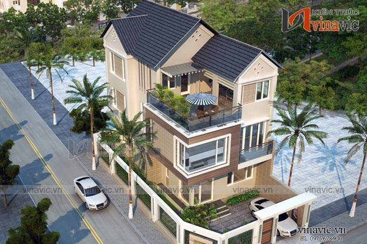 Nhà 3 tầng mặt tiền 7m hiện đại đầu tư 1,5 tỷ ở Nghệ An BT1530