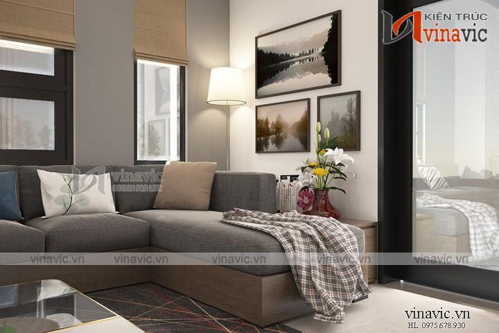 Mẫu thiết kế nội thất hiện đại cho căn biệt thự nghỉ dưỡng NTBT1691