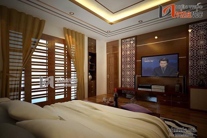 Say đắm với nét đẹp tinh tế nội thất biệt thự cổ điển NTB1407