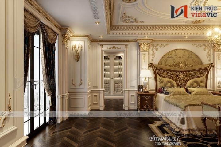 Biệt thự lâu đài Pháp cổ điển đẹp như mơ của doanh nhân LDDT2001
