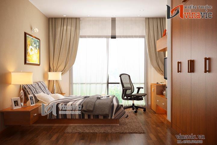 Nội thất chung cư đẹp NTC1411