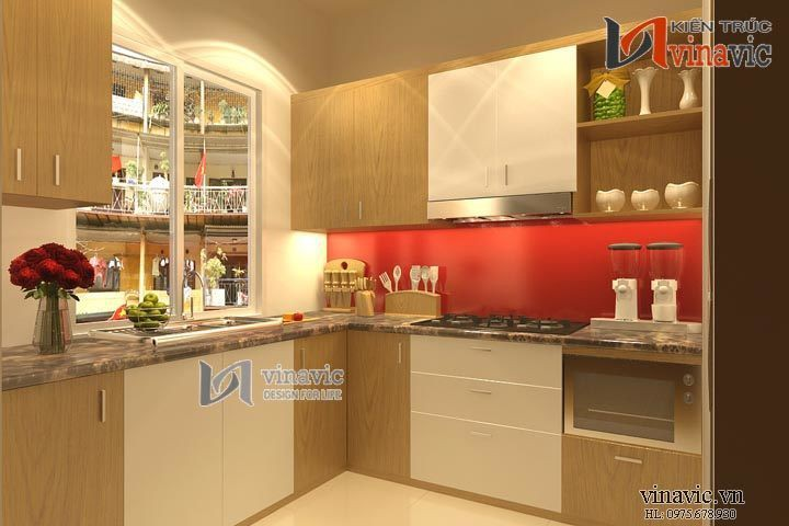 Phong cách hiện đại sang trọng trong thiết kế nội thất NTO1403