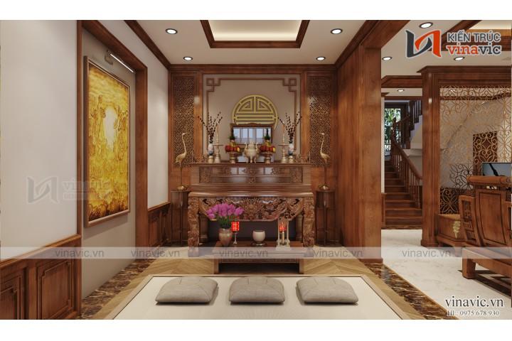 Siêu phẩm nhà đẹp 2 tầng làm bằng gỗ Conwood kết hợp xi măng giả gỗ tại Lạng Sơn
