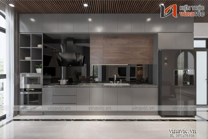 Nội thất Villa phong cách hiện đại ở Vinhome Ocean Park NT2018