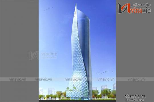 Mẫu thiết kế khách sạn văn phòng đẹp KSVP08