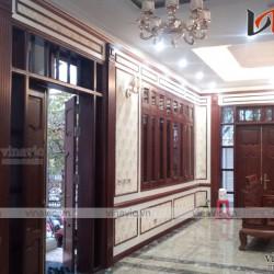 Thi công hoàn thiện kiến trúc nội thất sân vườn Biệt Thự Phủ Lý Hà Nam BT1654