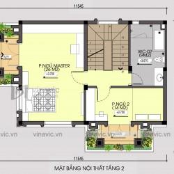 Mẫu thiết kế nhà phố 3 tầng mặt tiền 8m chiều sâu 10m kiểu cổ điển BT1834