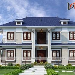 Thiết kế biệt thự 2 tầng 5 phòng ngủ cao cấp ở Phú Quốc BT1808