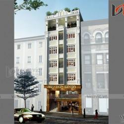 Mẫu thiết kế khách sạn văn phòng đẹp KSVP13