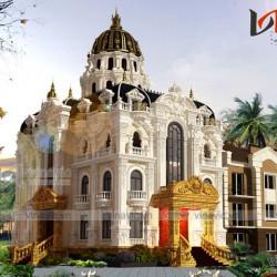 Mẫu thiết kế lâu đài cổ điển sang trọng đẳng cấp LDDT1811
