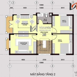 Biệt thự phố 3 tầng 80m2 mặt tiền 7m thiết kế hiện đại BT1434