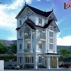 Biệt thự 4 tầng tân cổ điển 2 mặt tiền 230m2 ở Thanh Xuân- Hà Nội  BT1644