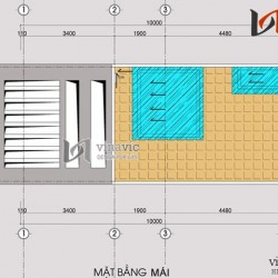 Mẫu thiết kế nhà ống đẹp nổi bật chỉ với diện tích 4,5 x 10m NO1402