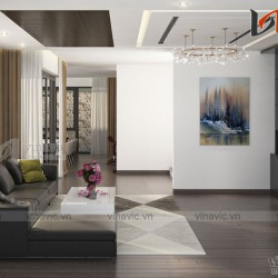 Mẫu thiết kế nội thất hiện đại cho căn Biệt thự 3 tầng NTBT1800