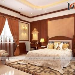 Biệt thự tân cổ điển 3 tầng 160m2 mặt tiền 9m cùng nội thất sang trọng BT1511