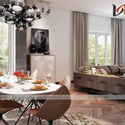 Xu hướng bố trí nội thất hiện đại thể hiện cá tính gia chủ biệt thự NTB1600