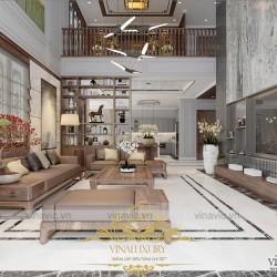 Mẫu thiết kế Phong cách nội thất hiện đại tối giản cho biệt thự BT2019