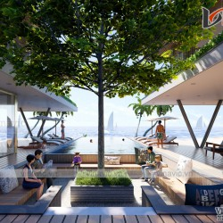 Nhà hiện đại 2 tầng 750m2 kiểu Singapore ở ven biển Phú Quốc BT1914