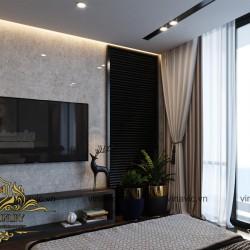 Mẫu nội thất hiện đại sang trọng tinh tế ở Mộc Châu - Sơn La NT2008