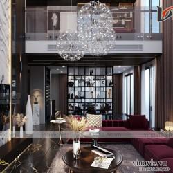 Thiết kế Villa 3 tầng hiện đại ở Chương Mỹ - Hà Nội BT2016