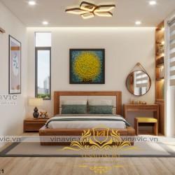 Nội thất phong cách hiện đại cho biệt thự nhà ông chi - Hà Nội NT2017