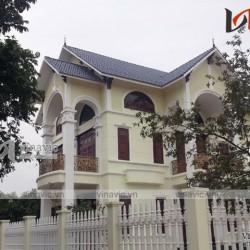 Thi công biệt thự tân cổ nhẹ nhàng tại Nhân Hà Nam TCBT1653