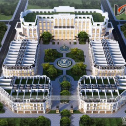 Thiết kế hotel & Shop house tại Thành Phố Bắc Giang
