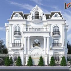 Villa 3 tầng tân cổ điển ở Thung Nai Hòa Bình