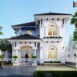 Mẫu nhà 2 tầng mái nhật ở Thanh Hóa BT2102