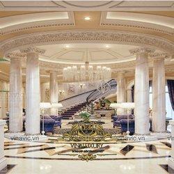 Thiết kế nội thất cao cấp cho lâu đài anh Phong Bình Dương NT2000
