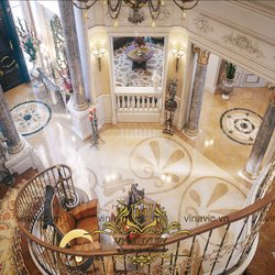 Nội thất cổ điển cho lâu đài Pháp cổ ở Đà Nẵng NT2002