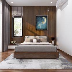 Thiết kế 3D nội thất biệt thự hiện đại ở Hải Dương NT2101