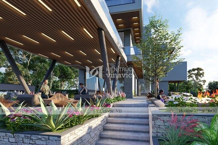 Biệt thự hiện đại 3 tầng sang trọng đẳng cấp view sân golf tam đảo BT2121