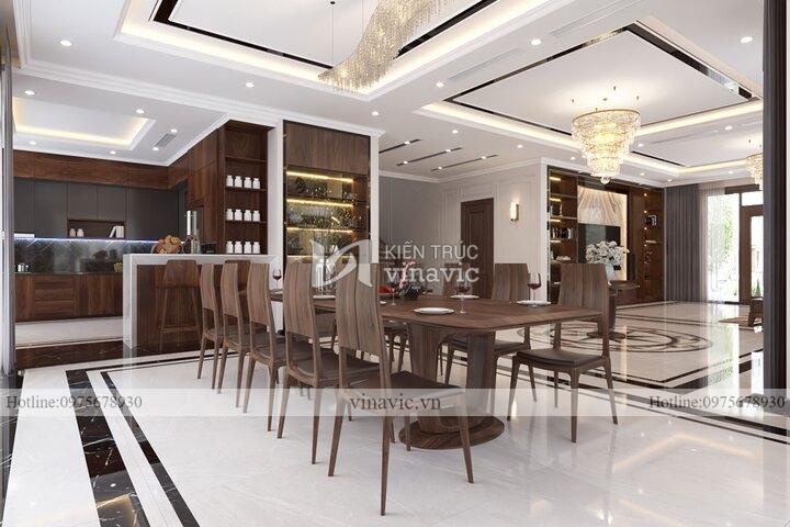 Thiết kế nội thất hiện đại cho biệt thự cao cấp NT2106