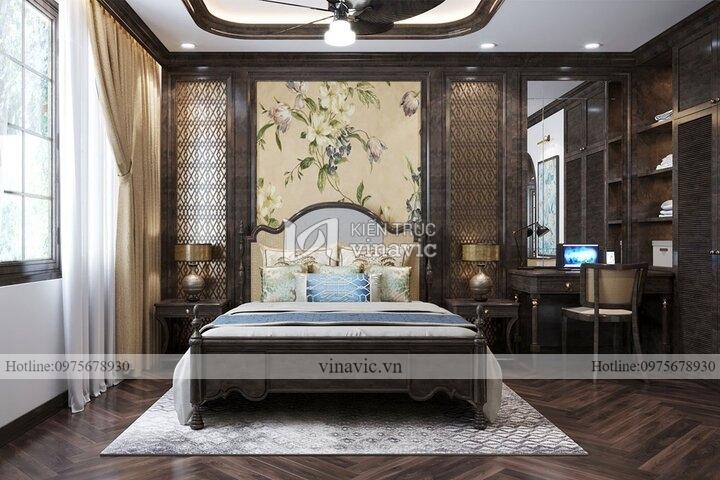 Thiết kế nội thất phong cách Indochine mới lạ NT2107