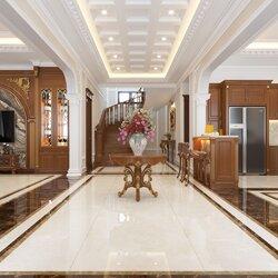 Thiết kế nội thất biệt thự 2 tầng hiện đại NT2108