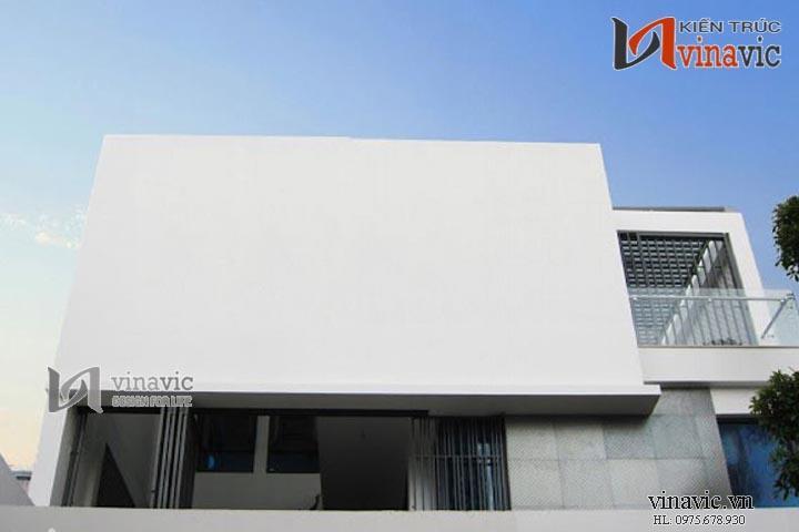 Mẫu thiết kế biệt thự hiện đại thu hút đầy ấn tượng BTCC1426