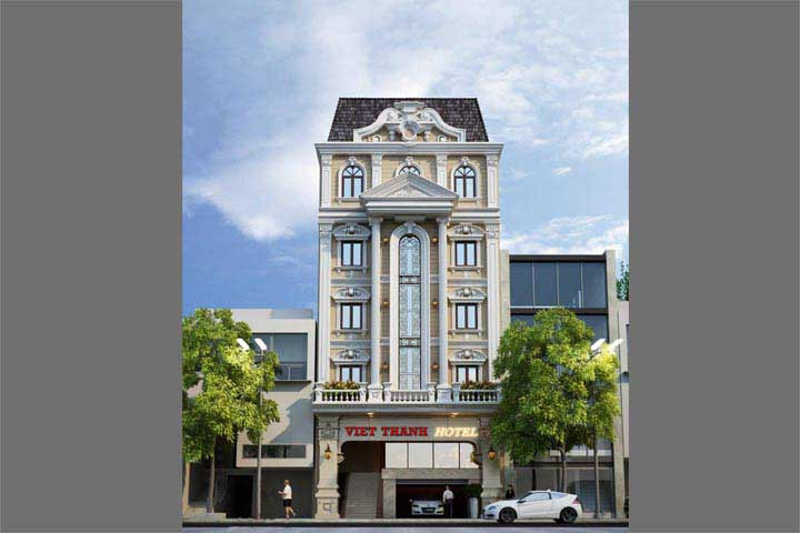 Mẫu thiết kế khách sạn văn phòng đẹp KSVP06