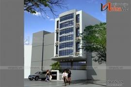 Mẫu thiết kế khách sạn văn phòng đẹp KSVP09