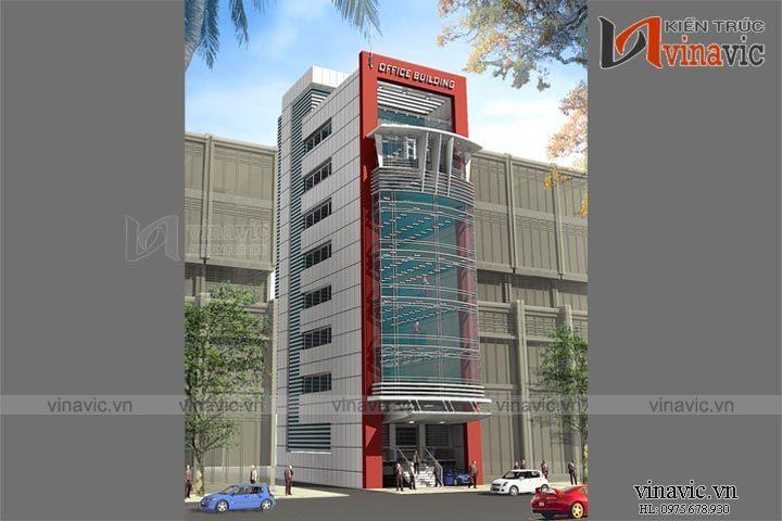 Mẫu thiết kế khách sạn văn phòng đẹp KSVP11