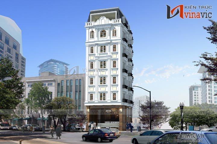 Khách sạn văn phòng phong cách tân cổ điển KSVP14