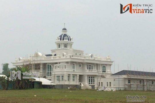 Tòa lâu đài đẹp nổi bật thiết kế tinh tế trong từng chi tiết LDDT04
