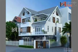 Biệt thự đẹp 3 tầng thiết kế theo phong cách hiện đại BT1439
