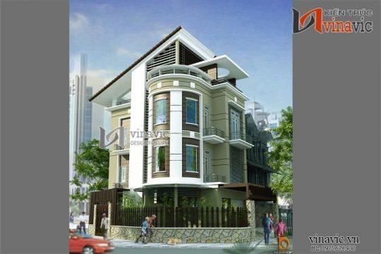 Nhà biệt thự đẹp 4 tầng mặt tiền rộng kết hợp kinh doanh BT1418