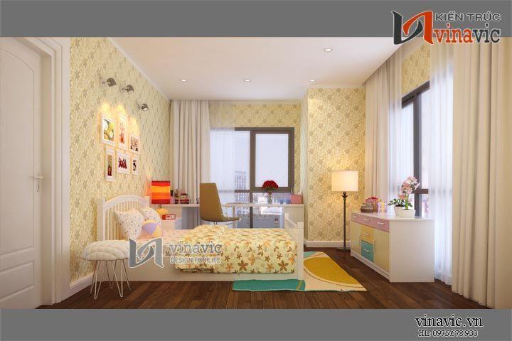 Nội thất chung cư đẹp NTC1414