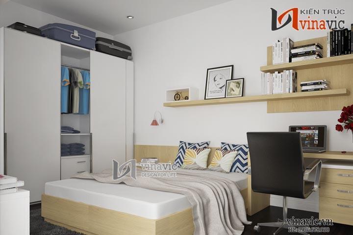 Nội thất chung cư đẹp NTC1416