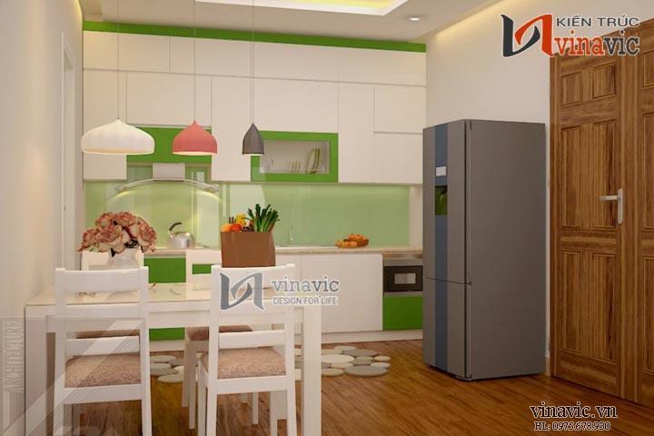 Thiết kế nội thất NTO1401 mang thiên nhiên tươi mát đến ngôi nhà bạn