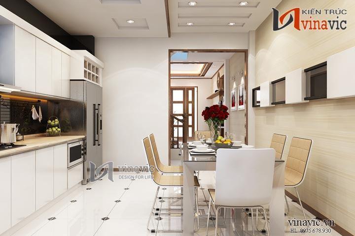 Sự kết hợp hoàn hảo của gam màu trầm trong thiết kế nội thất NTO1404